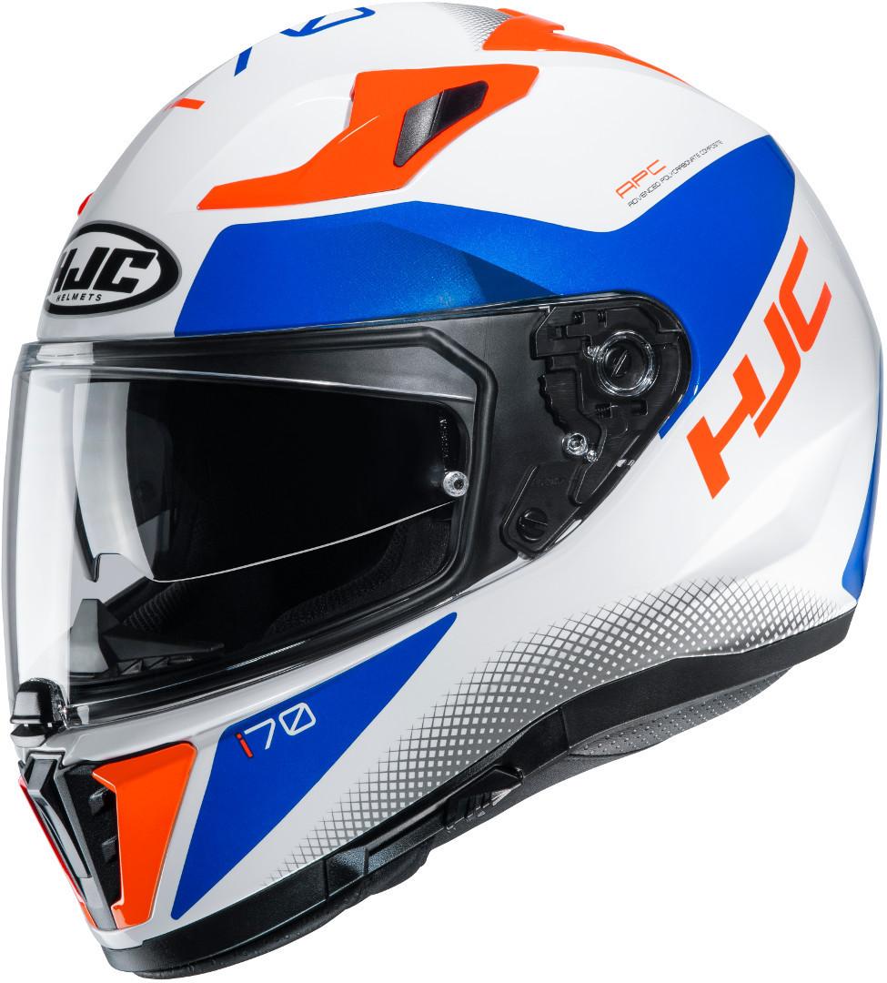 HJC i70 Tas Helm, weiss-blau-orange, Größe L, weiss-blau-orange, Größe L