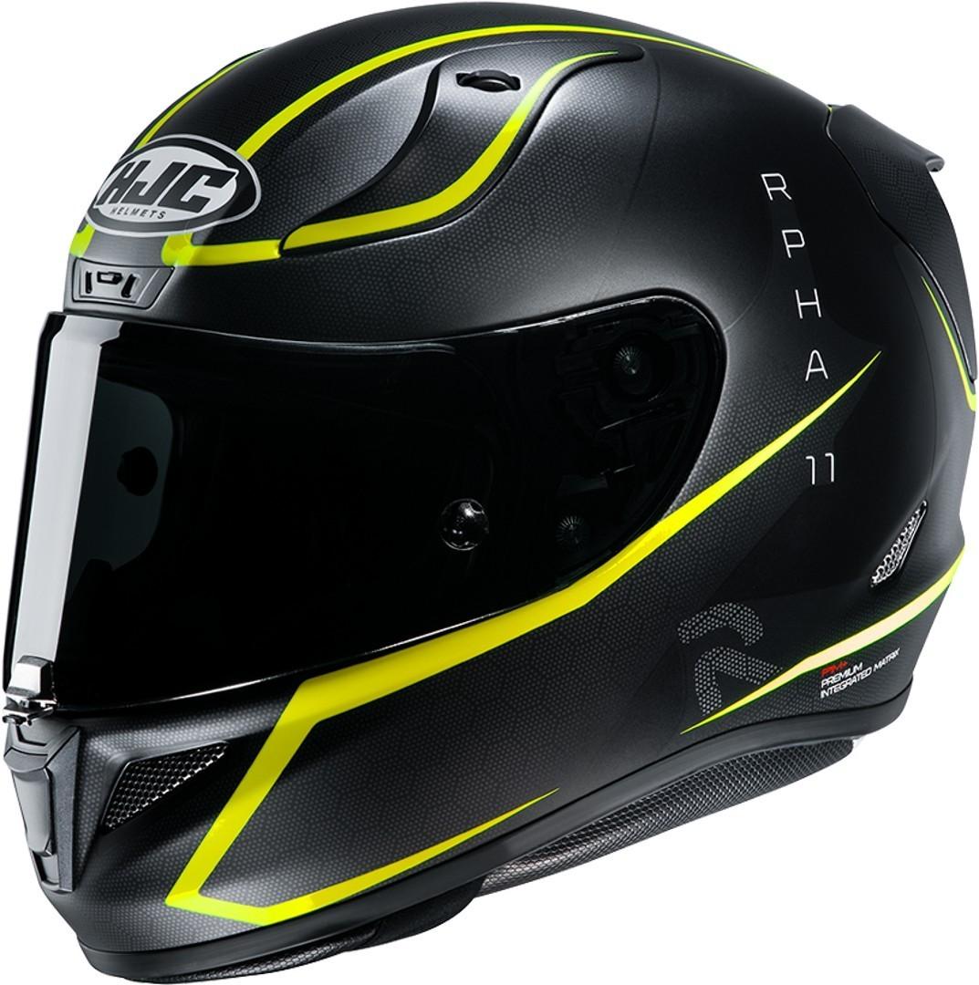 HJC RPHA 11 Jarban Helm, schwarz-gelb, Größe S, schwarz-gelb, Größe S