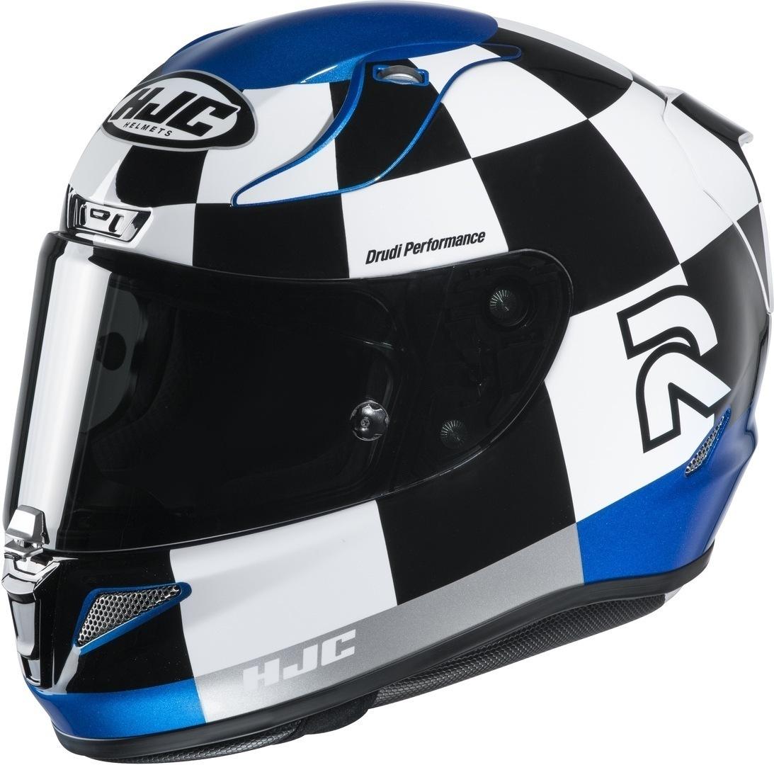 HJC RPHA 11 Misano Helm, schwarz-weiss-blau, Größe S, schwarz-weiss-blau, Größe S