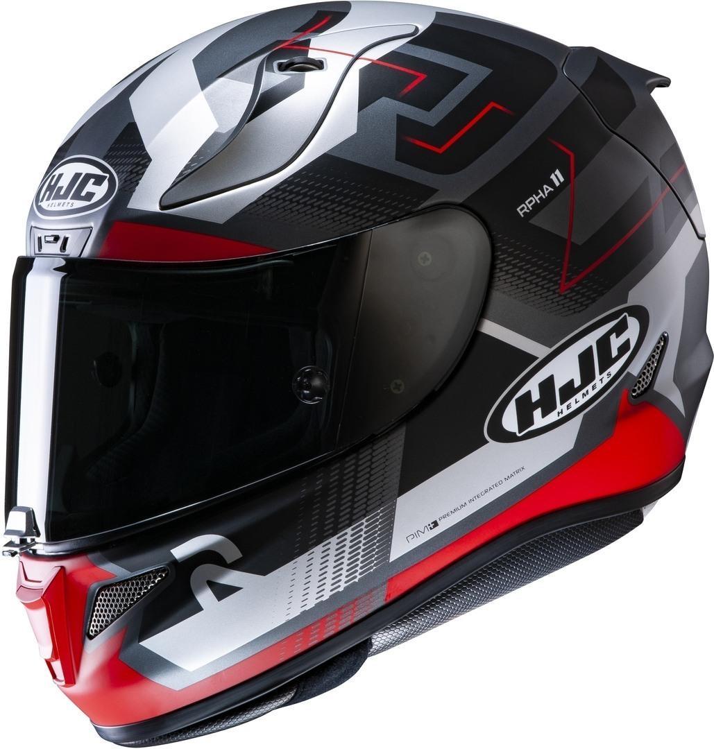 HJC RPHA 11 Nectus Helm, grau-silber, Größe M, grau-silber, Größe M