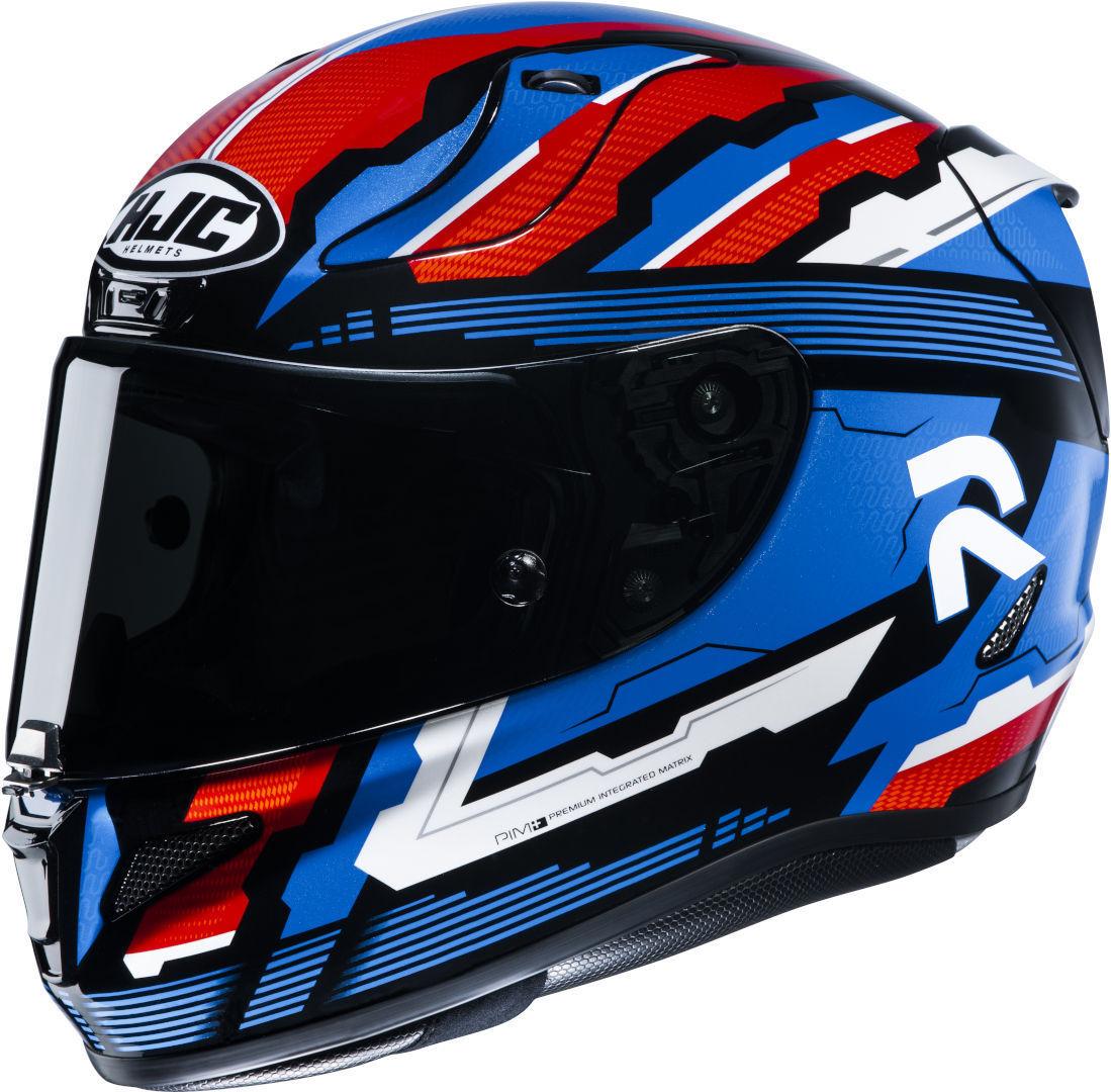HJC RPHA 11 Stobon Helm, rot-blau, Größe M, rot-blau, Größe M