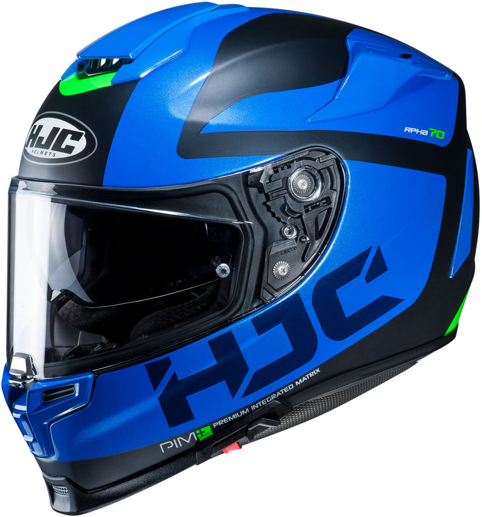 HJC RPHA 70 Balius Helm, blau, Größe M, blau, Größe M