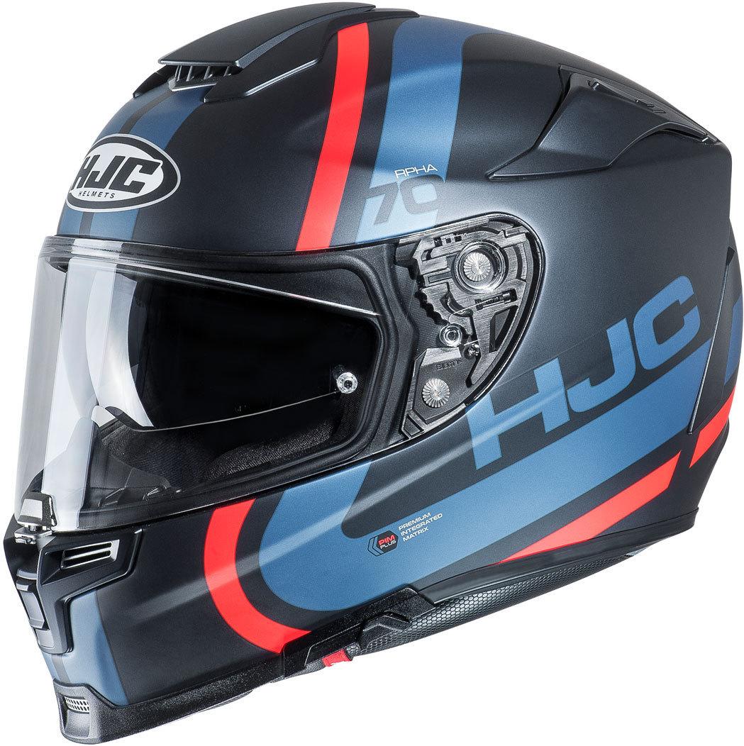 HJC RPHA 70 Gaon Helm, schwarz-rot-blau, Größe L, schwarz-rot-blau, Größe L