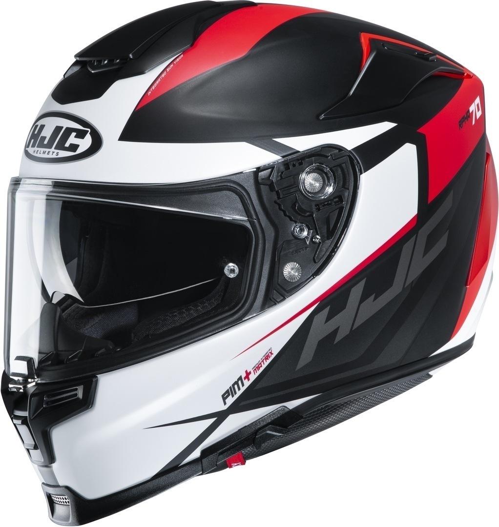 HJC RPHA 70 Sampra Helm, schwarz-weiss-rot, Größe 2XL, schwarz-weiss-rot, Größe 2XL